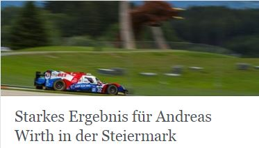Andreas Wirth ELMS Red Bull Ring
