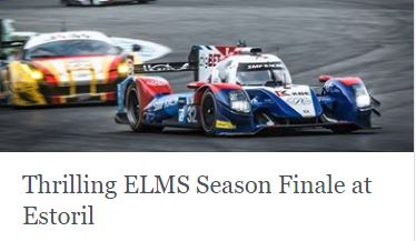 Thrilling ELMS Season Finale at Estoril